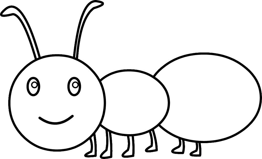 Ant Coloring Pages For Kids AZ Coloring Pages Bugs etc to