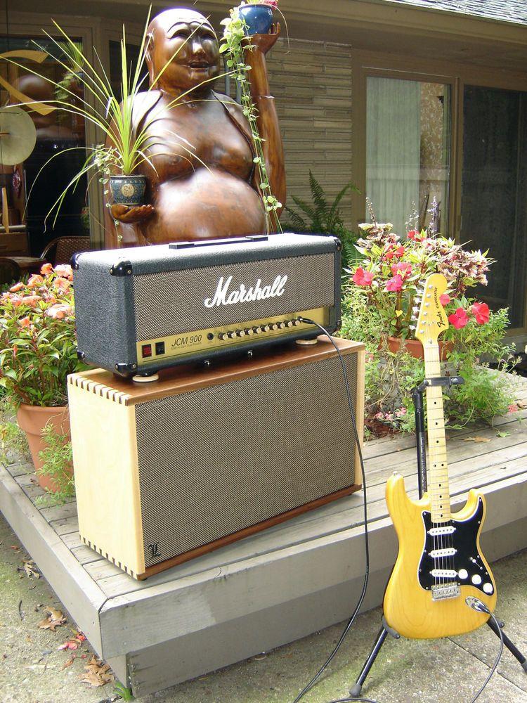 Custom 2X12 or 2X10 hardwood guitar speaker cabinet | Speakers and ...