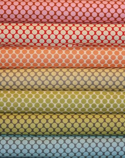 stacks of fabric, so many DIY projects spring to mind