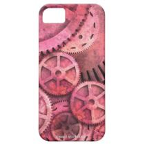 Steampink Gears iPhone 5 Cases by Paul Stickland for StrangeStore on Zazzle #steampunk #iphone5