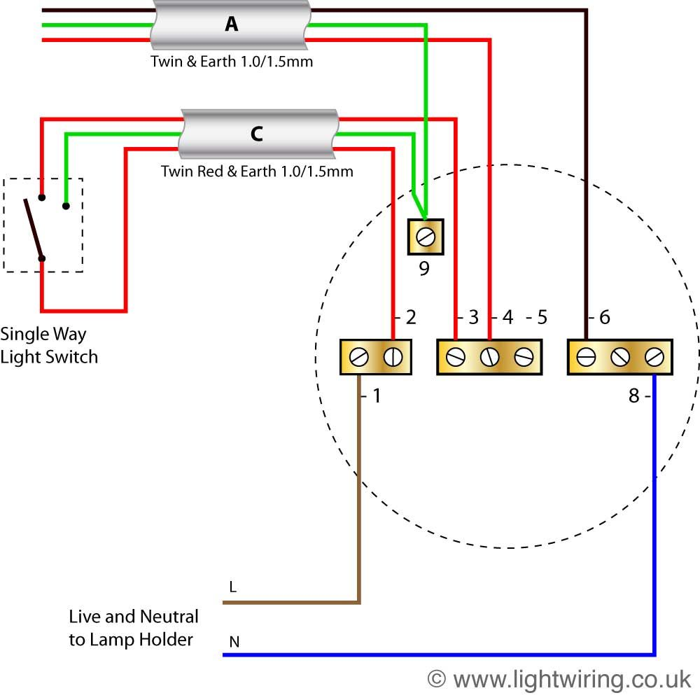 19 Great Ideas Of Wiring Diagram For 3 Way Switch With 2 Lights For You Lighting Diagram Ceiling Rose Wiring Ceiling Rose