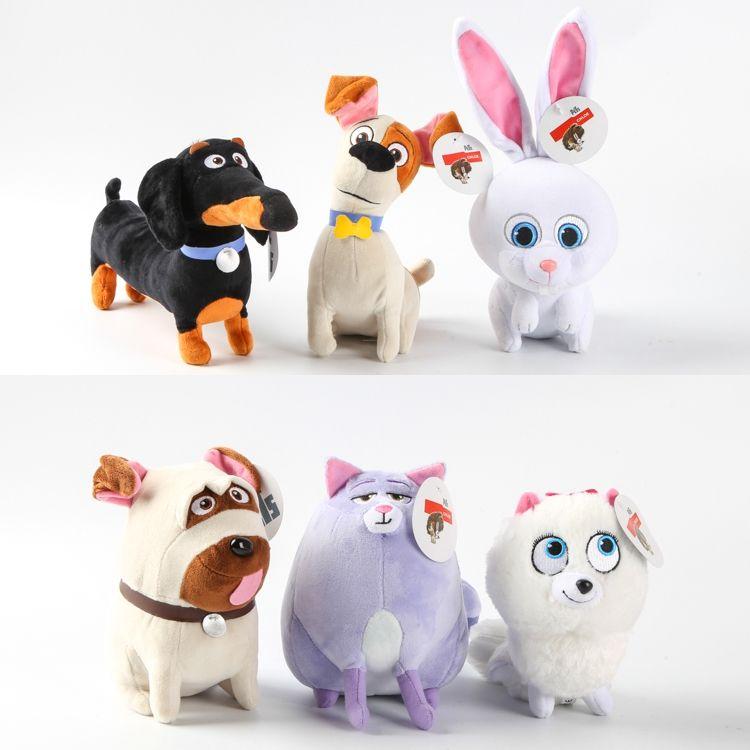 Aliexpress Com Buy 16cm 30cm New Movie The Pets Plush Toys Max