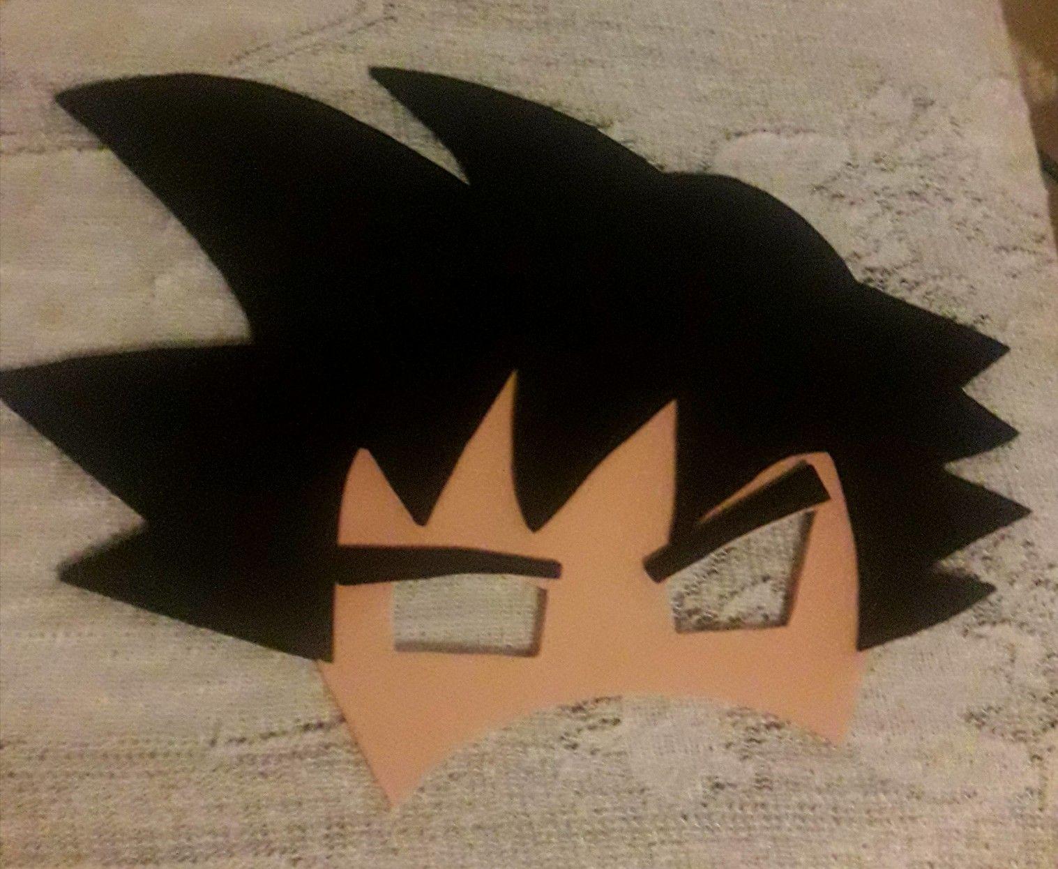 Mascara Goku Dragon Ball Goku Dragon Ball Dragon