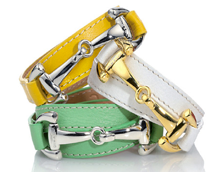 On Trend Go Bright Or Home With Bold Equestrian Style Dimacci Burghley Bracelets