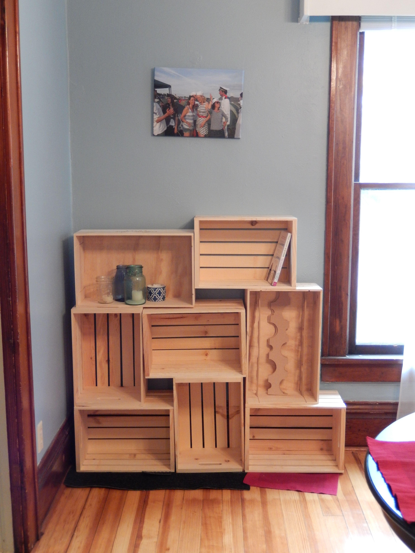 Arrange Like This On Wall Bathroom Storage Bookshelves Diy Diy