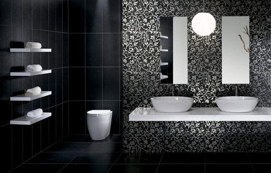 Modern Bathroom Tile Designs In Monochromatic Colors Simple Bathroom Renovation Modern Bathroom Tile Tile Bathroom