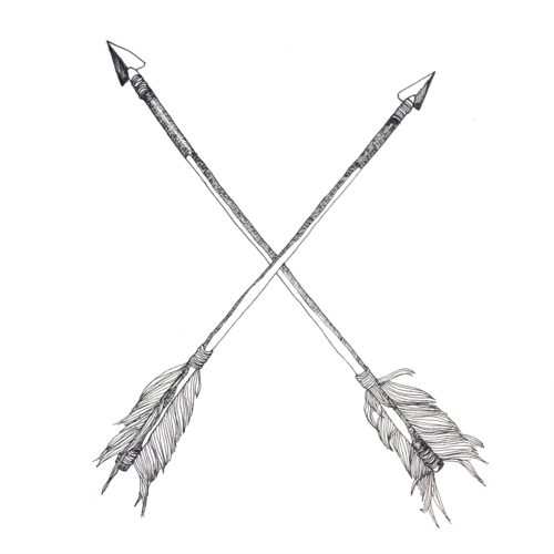 Crossed Arrows Symbolism Google Search Crossed Arrow Tattoos Small Arrow Tattoos Arrow Tattoos