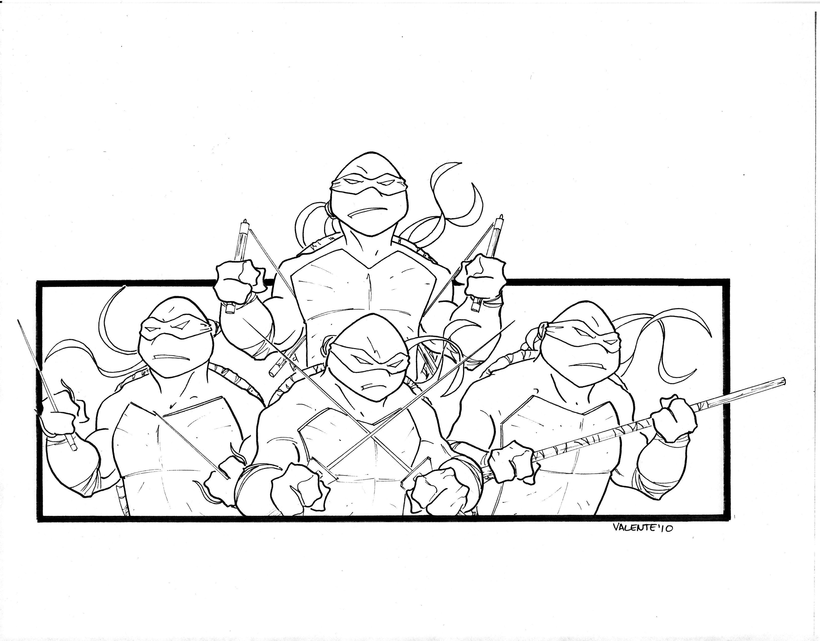 A Ninja Turtle Arm Band Design Ink Ninja Turtle
