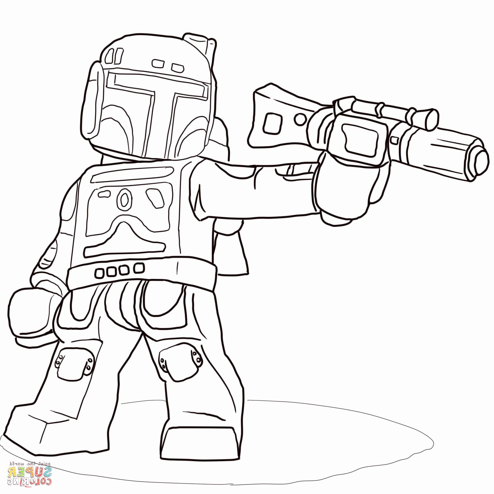 Coloriage Star Wars Lego