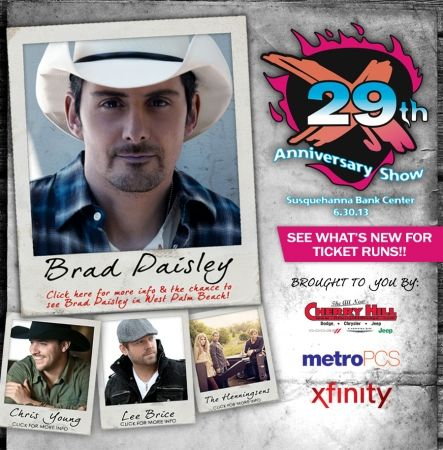 925 XTU Anniversary Show 2013 06 30 190000 Susquehanna Bank Center 1 Harbor Blvd Camden US 08103 609 635 1445