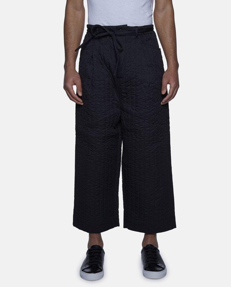Craig Green Black Quilted Workwear Trouser Showstudio Machine A