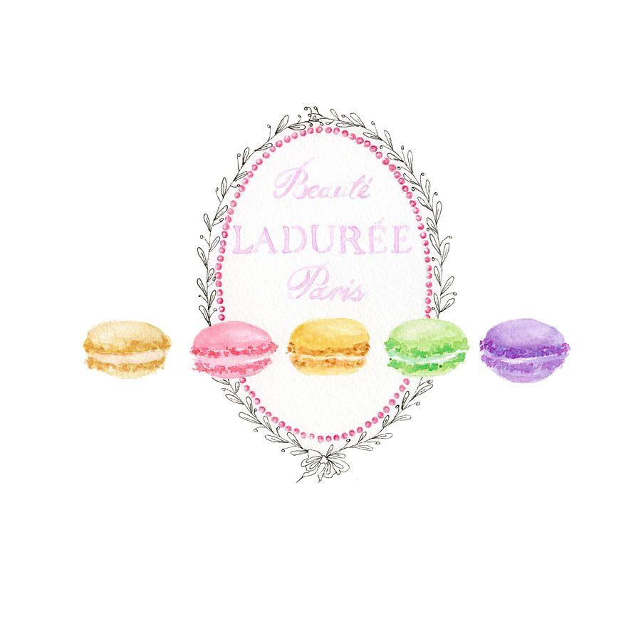 Laduree Logo Laduree Macarons Painting Laduree Art Framed Art Prints