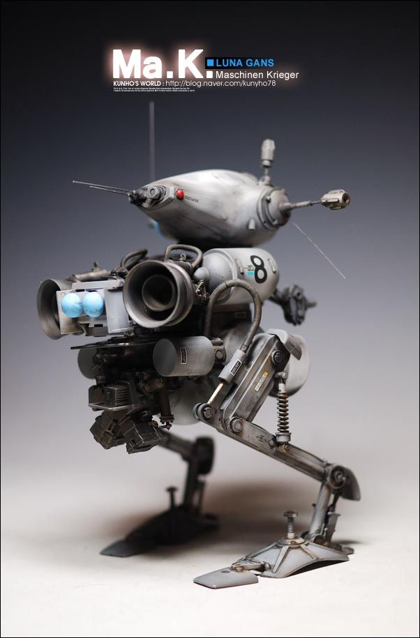 1 20 sci fi scale model maschinen krieger luna gans by for Manuale termostato luna in 20 fi