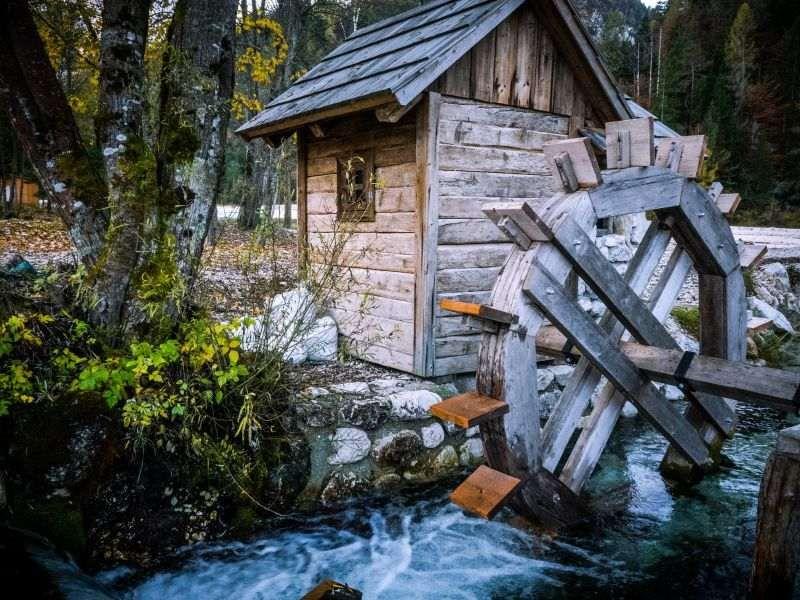 Micro Hydro Power Generating Electricity From Water Mygreenterra Water Wheel Hydro Hydro Electric
