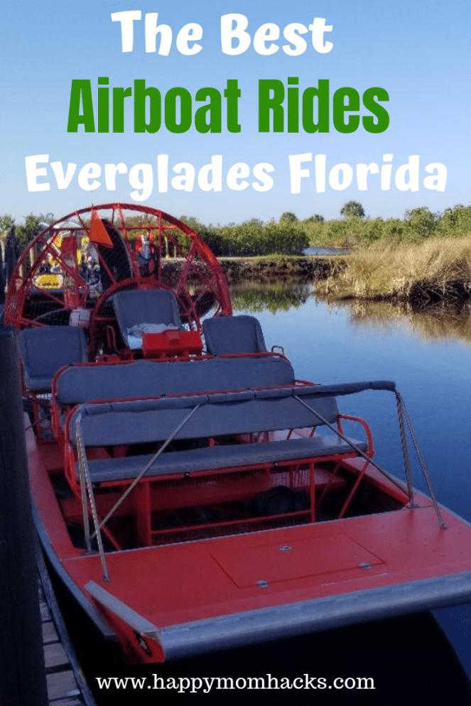 Best Airboat Rides Everglades Airboat Rides Florida