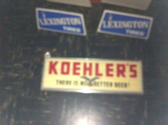 Koehler beer sign