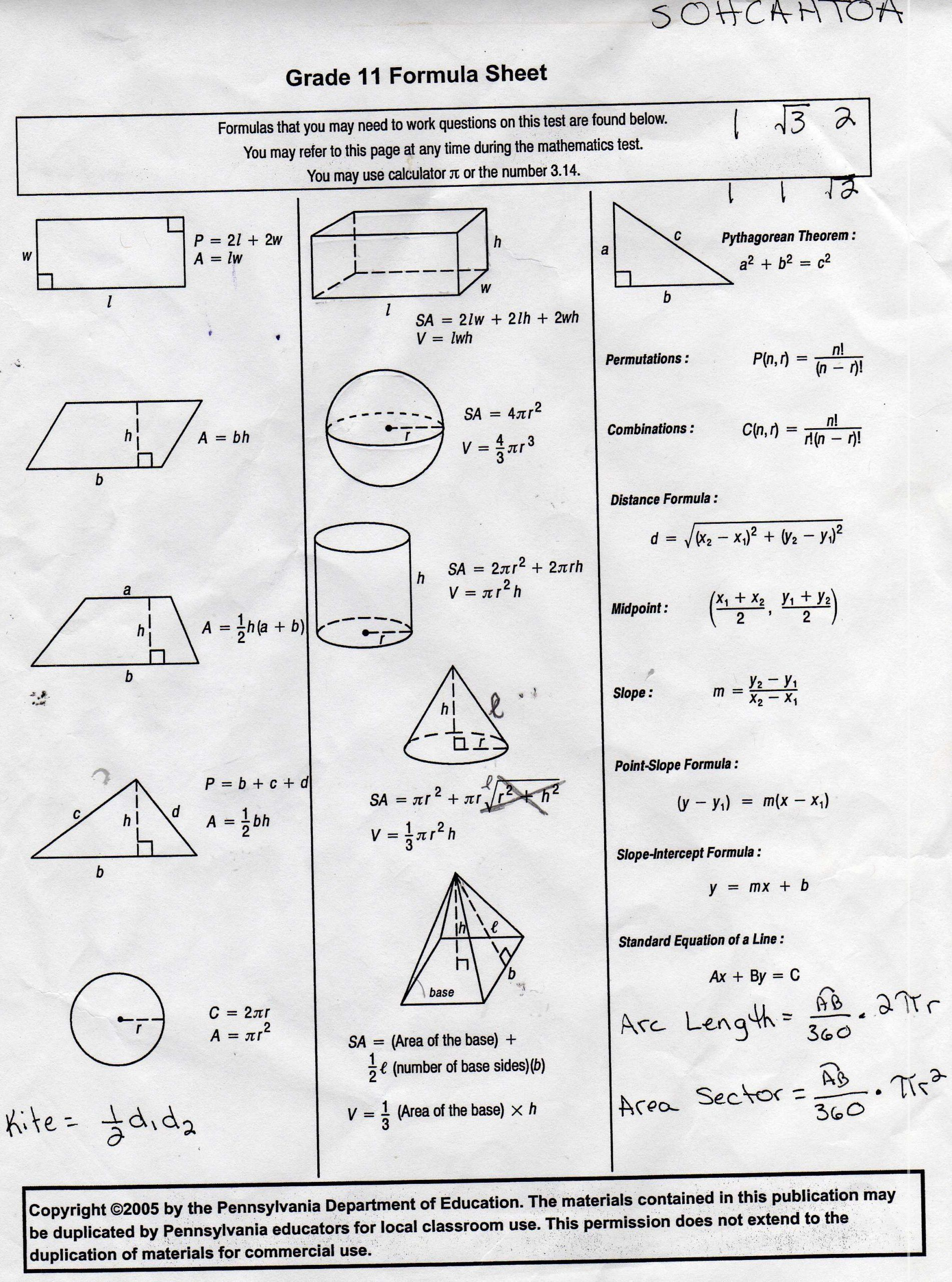 9th Grade Geometry Worksheet 10th Grade Geometry Triangles