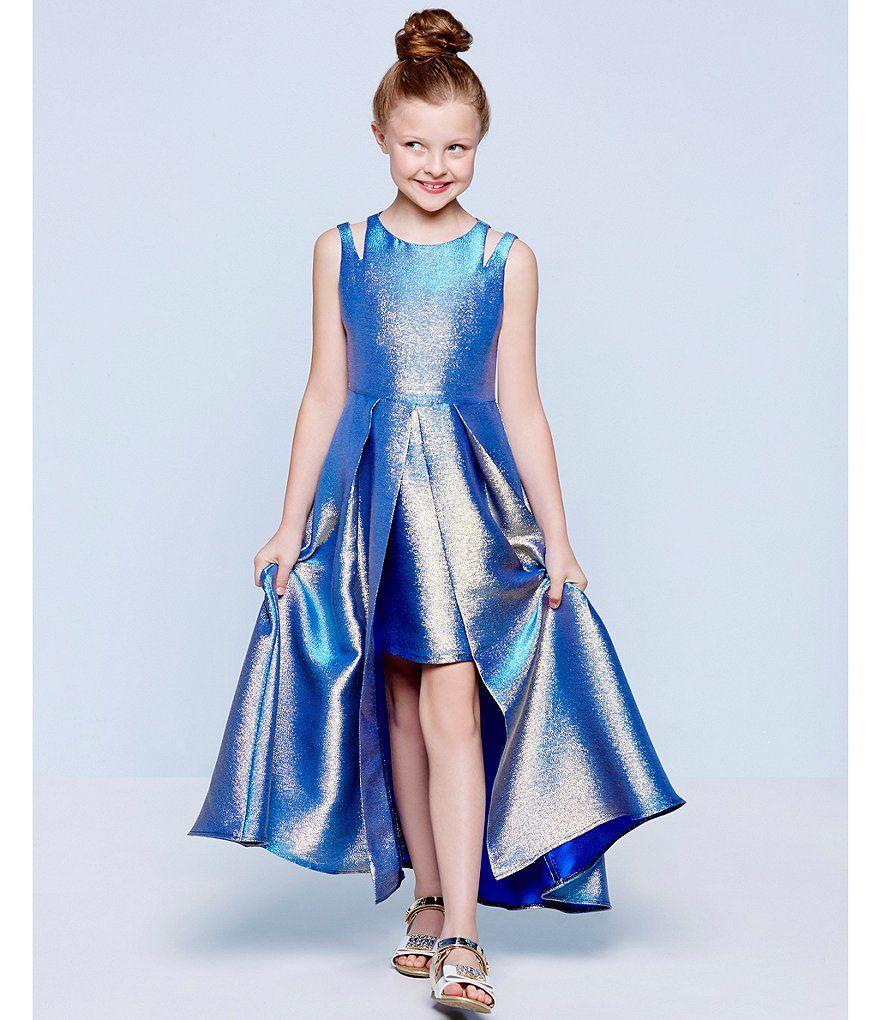 31f9268f596 Shop for Tween Diva Big Girls 7-16 Double-Strap Metallic Brocade Dress at  Dillards.com. Visit Dillards.com to find clothing