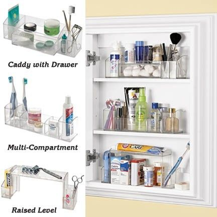 Pin By Maureen Buccellato On Bathroom Medicine Cabinet Organization Small Bathroom Organization Cabinet Organization