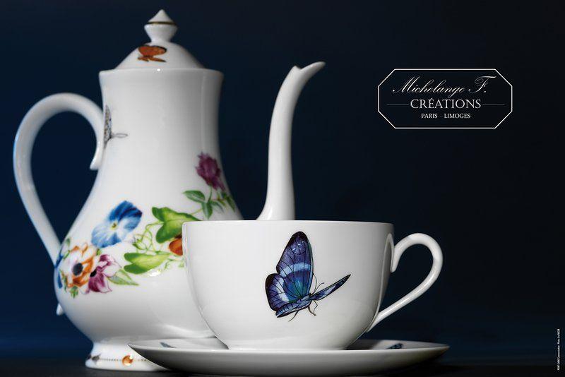 Porcelaine Michelange Fradkof ambiance  Envol Capricieux.