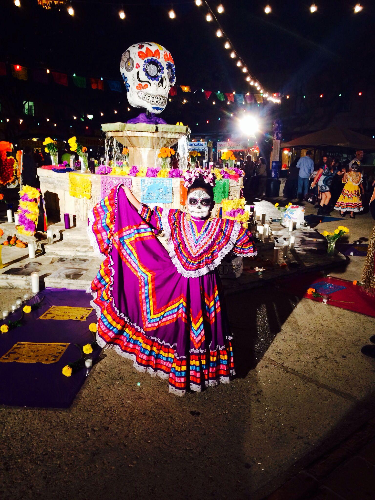 Dia de los muertos festival san antonio texas http