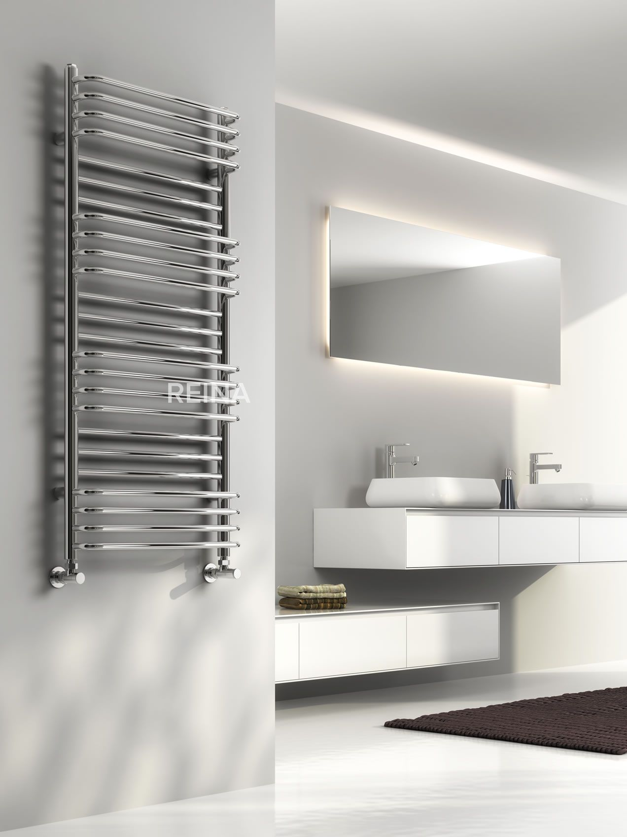 The Reina Marco Designer Heated Towel Rail