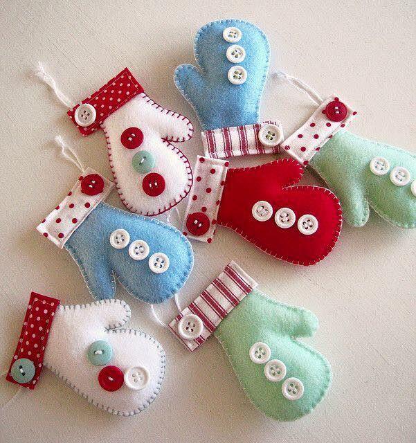 Felt Craft Ideas For Christmas Part - 35: Explore Christmas Felt Crafts, Christmas Sewing And More!