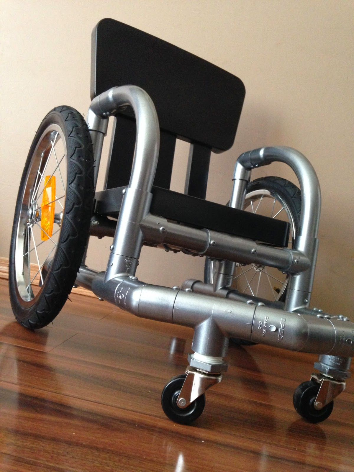 These Smart Parents Built a Homemade Wheelchair for Their Paralyzed Toddler