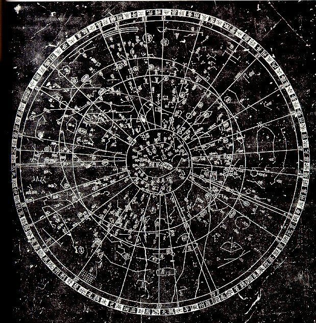 Chinese Star Map circa 16th century AD | Planatus Paradox | Star