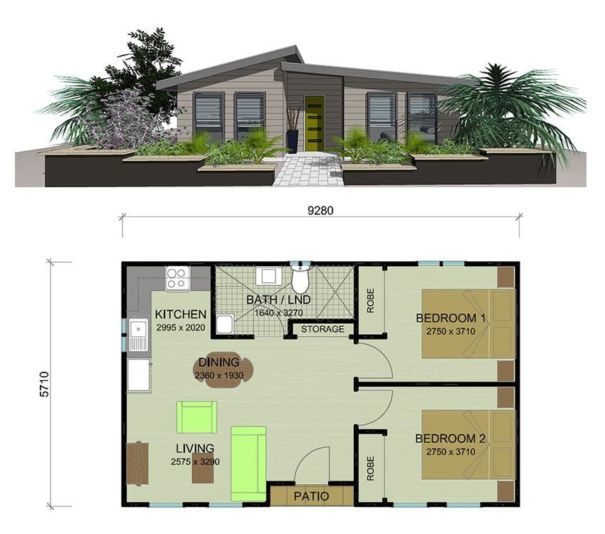 Pin By Christy On House Ideas Granny Flat Granny Flat Plans Cottage Floor Plans Cottage House Plans