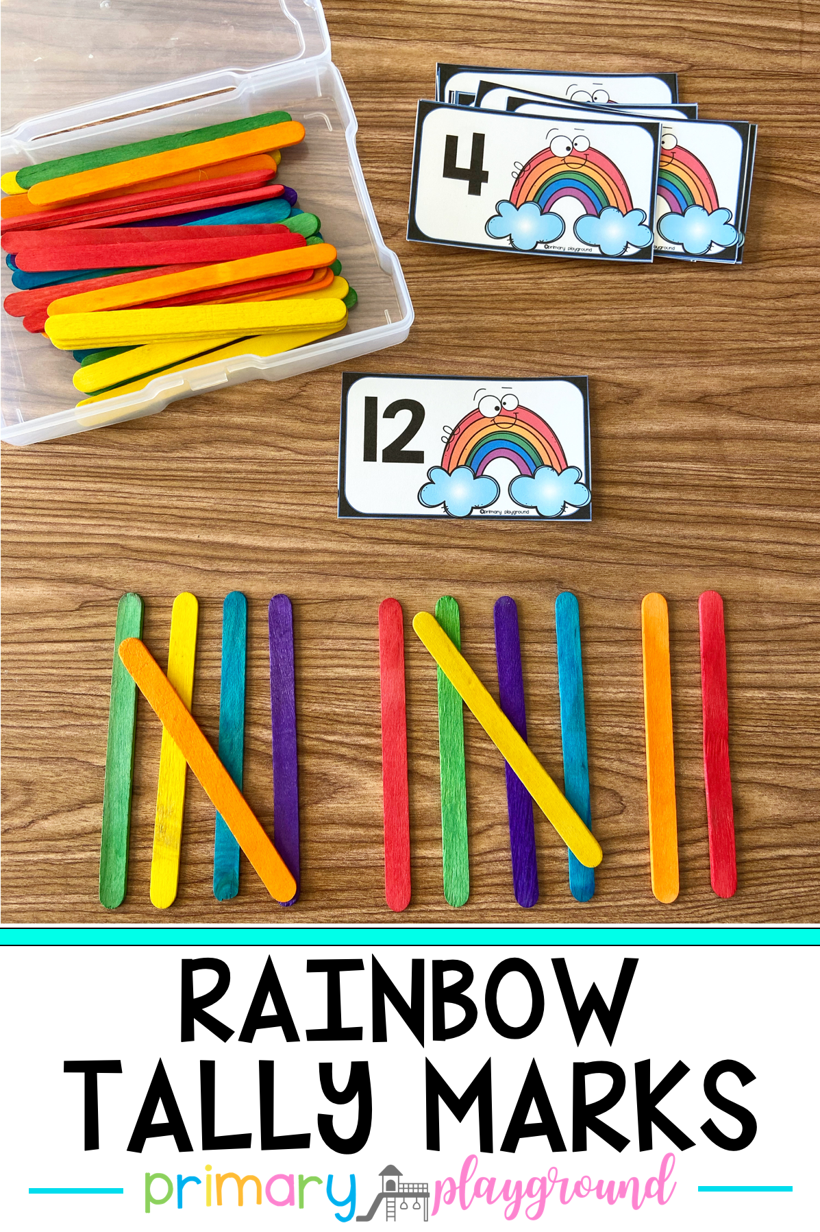 Rainbow Tally Marks In With Images