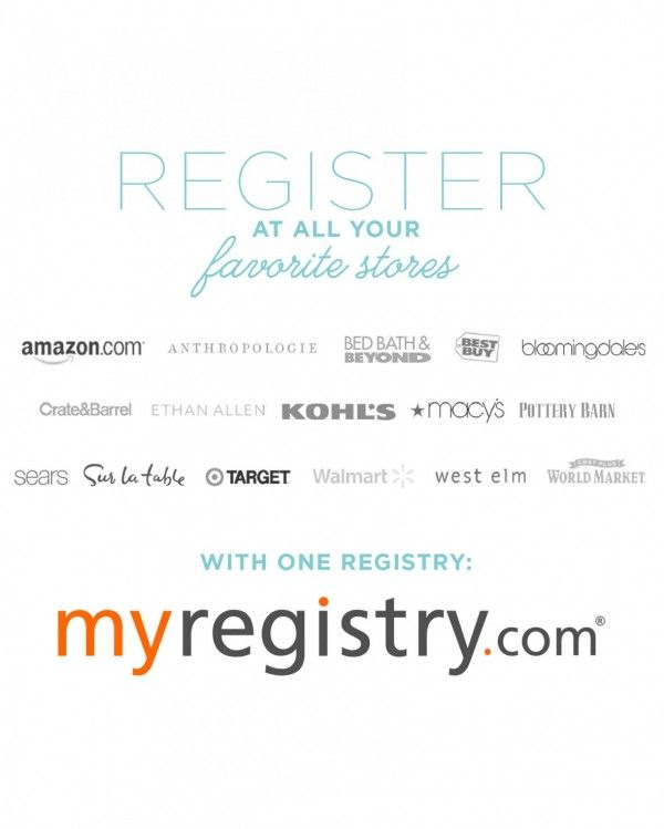 My Registry A Truly Universal Wedding Registry Universal Wedding Registry Wedding Event Planning Event Planning Tips