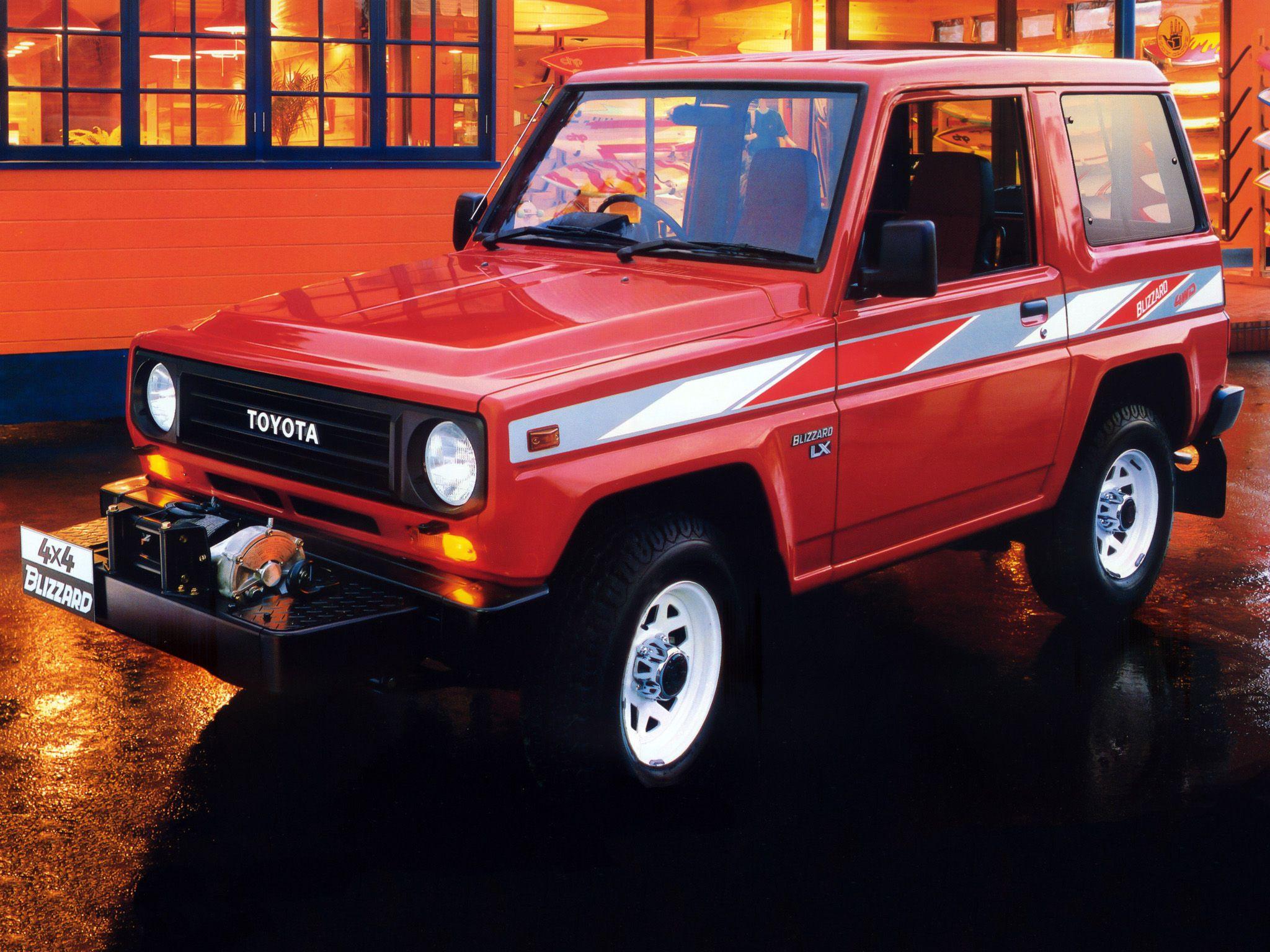 1990 Toyota Blizzard 18 Toyota Toyota Cars Daihatsu
