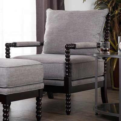 Colonnade Spindle Armchair Eclectic Living Room Spool Chair Armchair
