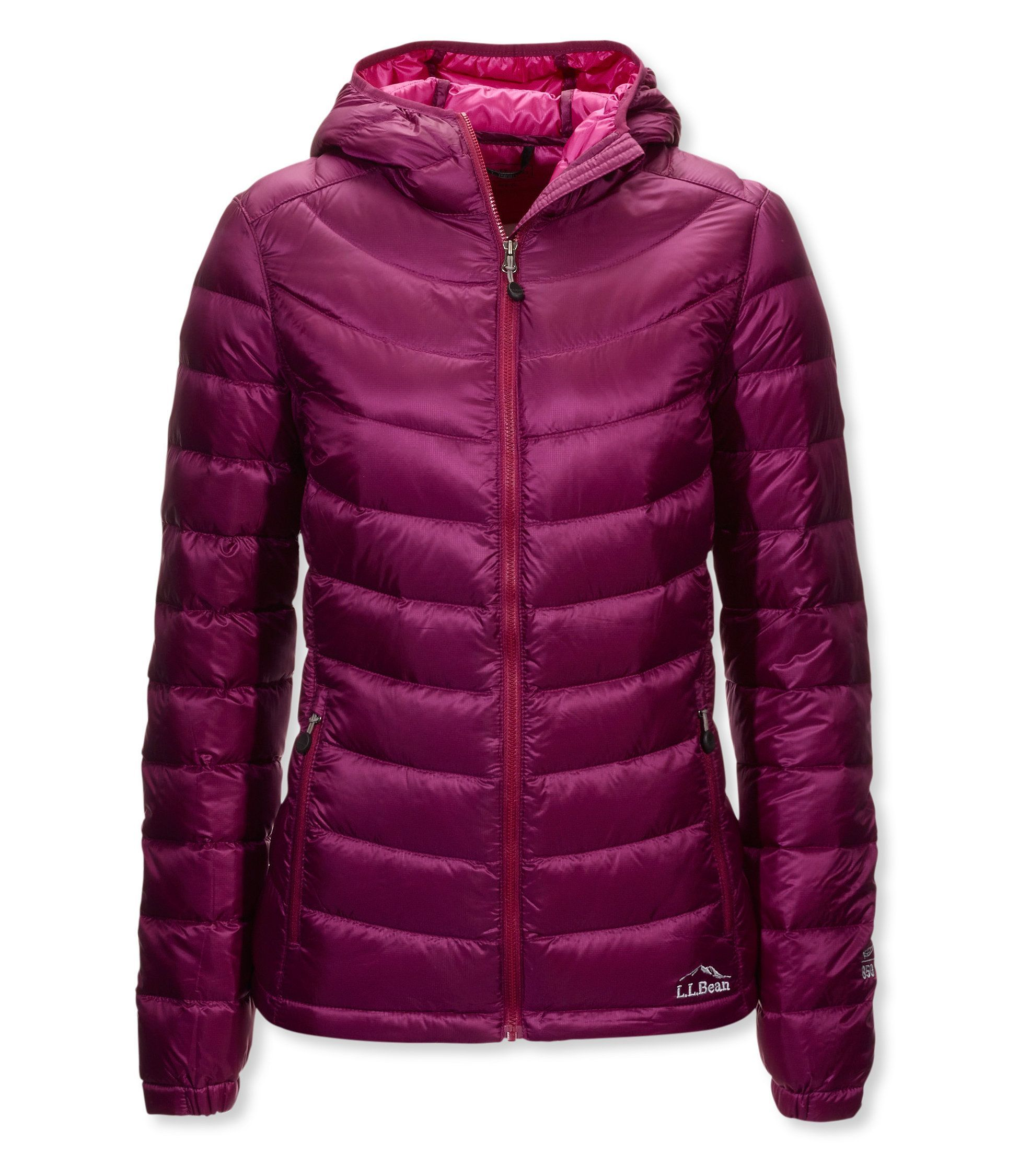 Women's Ultralight 850 Down Hooded Jacket | Jackets