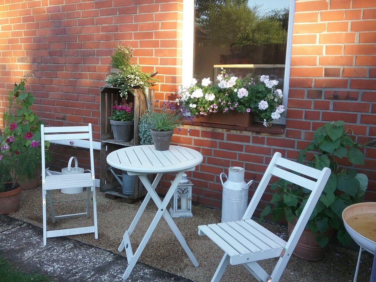 Terassenidee Garten Pinterest