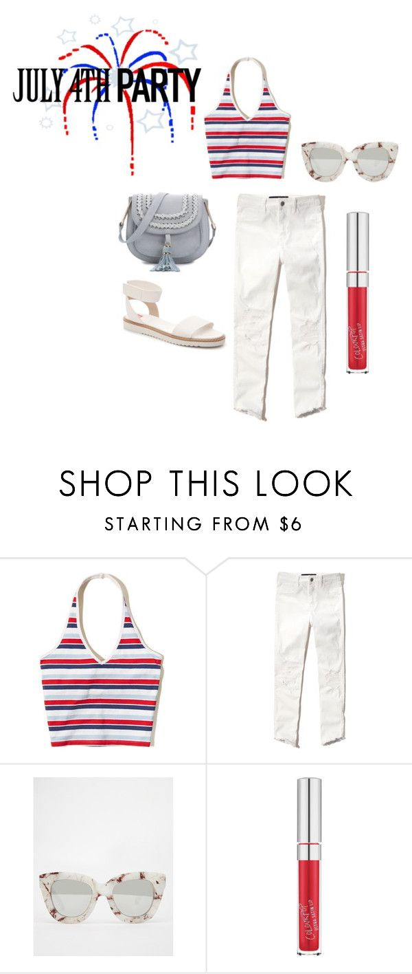 """""""July 4th"""" by ohm-dana on Polyvore featuring Hollister Co. and Quay"""