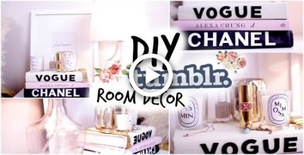 Fall DIY Tumblr Room Decor! Cozy Fall Nightstand! images