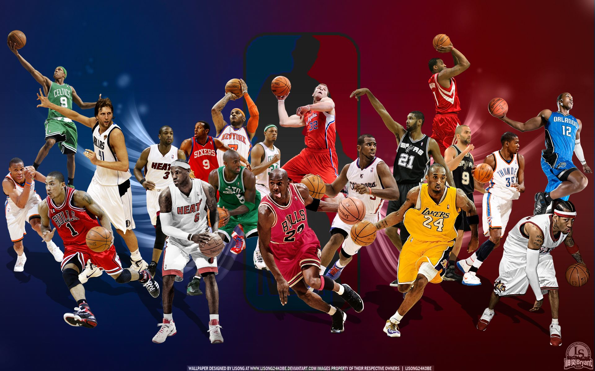 Allstars Nba Wallpapers Nba Mvps Basketball Wallpapers Hd
