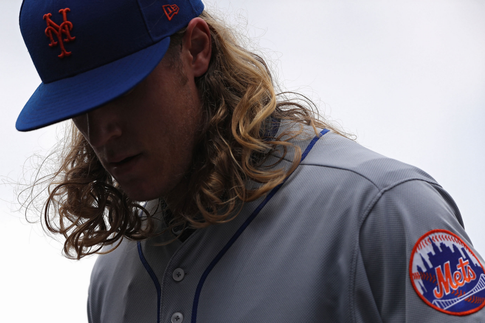 Noah Syndergaard's Body Is Broken, and the Mets Might Be