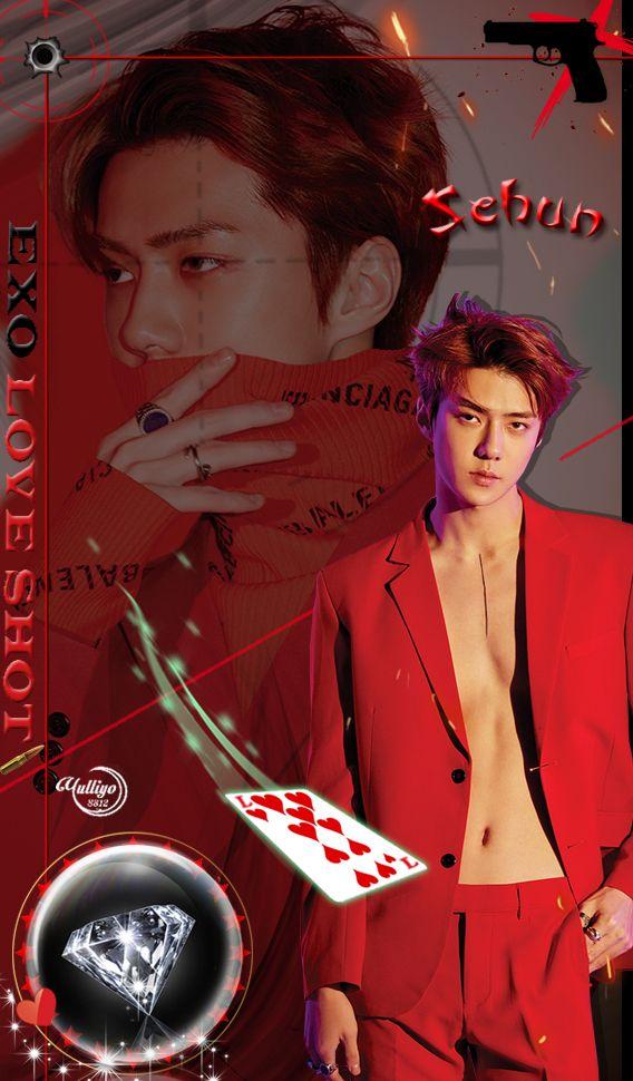 Exo Sehun Love Shot Lockscreen Pls Make Sure To Follow Me Before U Save It Find More On My Account Chen Comeback Exo K Exo Sehun Exo Lockscreen