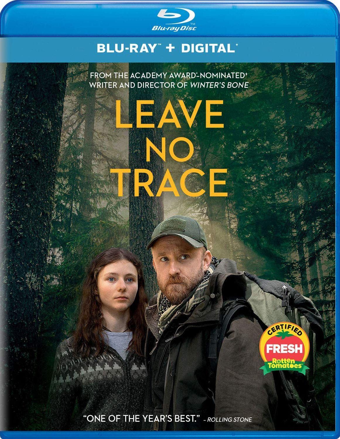 LEAVE NO TRACE BLURAY (UNIVERSAL STUDIOS) Blu ray