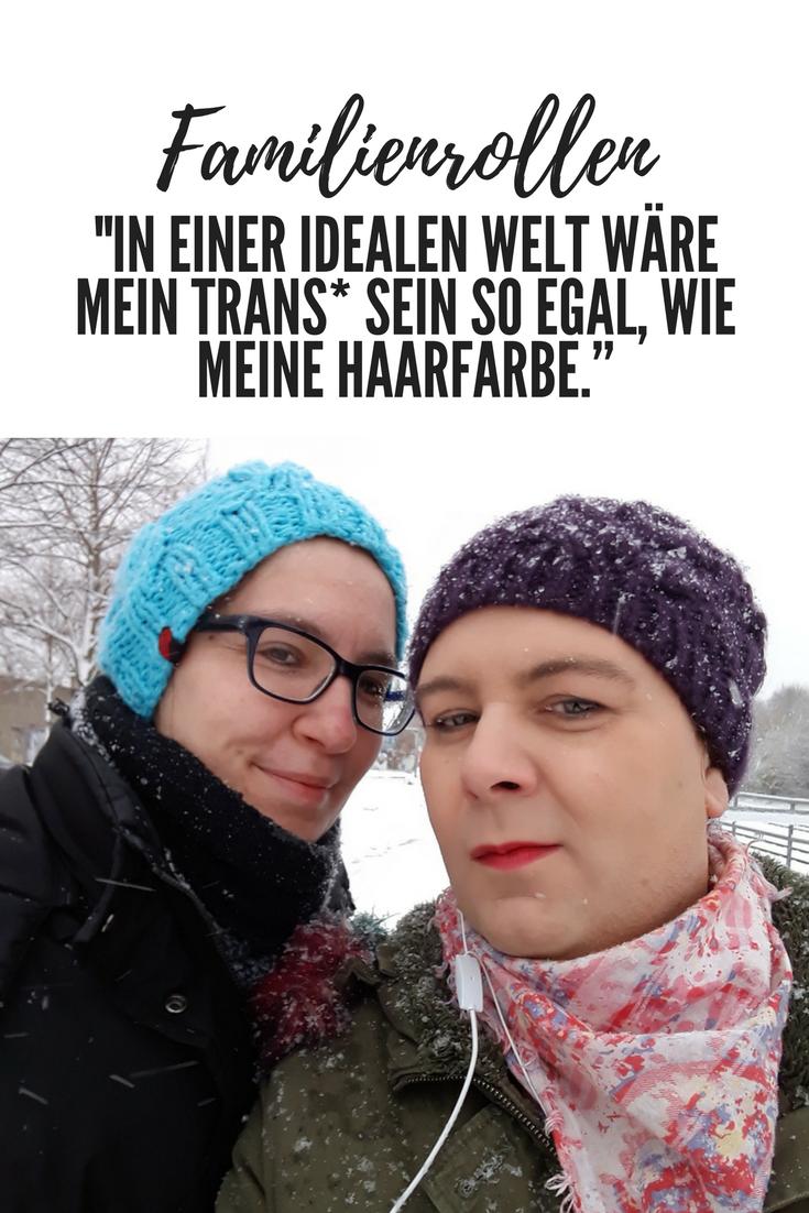 Nina ist #trans: In den Familienrollen erzählt sie, warum sie sich für eine OP entschieden hat, wie das Umfeld auf ihre Offenheit reagiert und was sich in ihrer Beziehung getan hat. #regenbogenfamilie