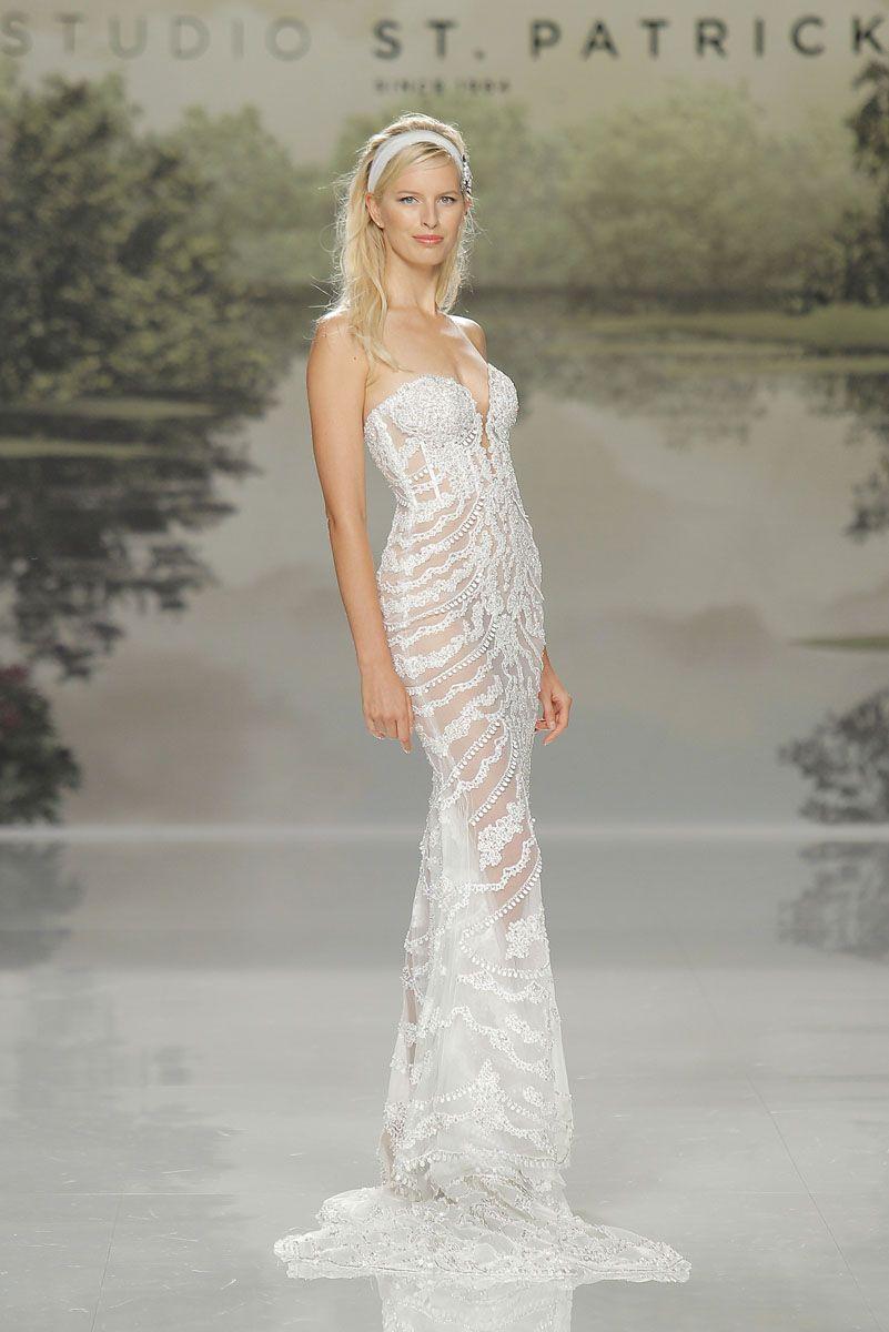 Introducing stpatrick direct from barcelona bridal fashion week