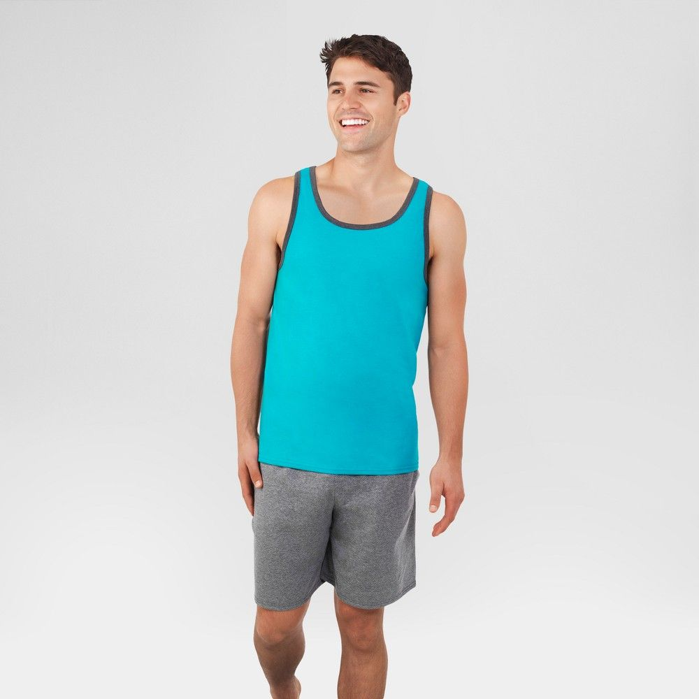 8ab8e0445 Fruit of the Loom Select Men's Tank - Turquoise 2XL, Blue | Products ...