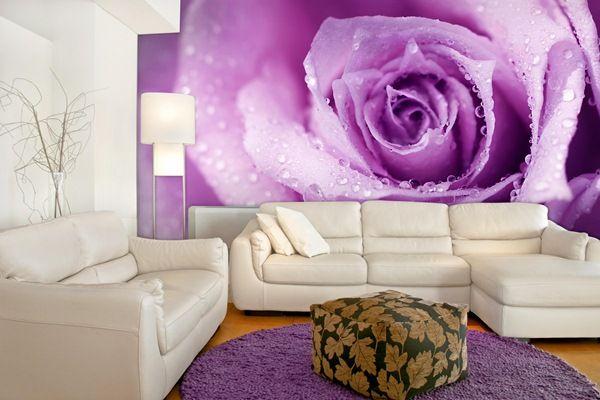 Fotomurales florales en calidad vinilo autoadhesivo laminado para decoraci n de paredes e - Ultimas tendencias en decoracion de interiores ...