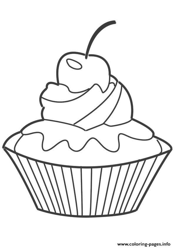 cupcake coloring pages  páginas para colorir riscos para