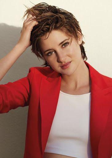 Shailene Woodley - short hairstyles we love