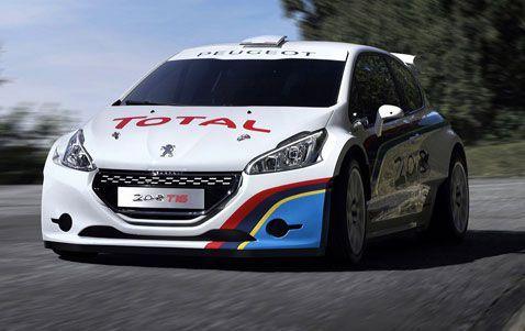 Peugeot regresa a Pikes Peak en el 2013