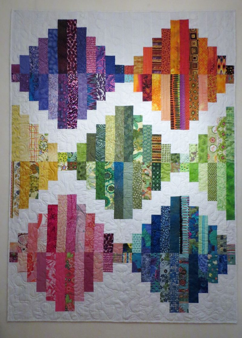 Soul Searching quilt - design by Kathy Doughty / Material ... : kathy doughty making quilts - Adamdwight.com
